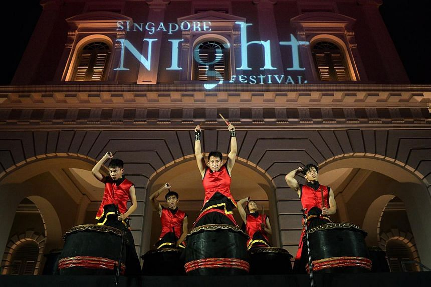 Singapore Night Festival. -- PHOTO: THE NEW PAPER