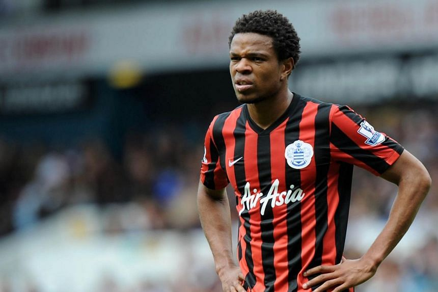 Queens Park Rangers' French striker Loic Remy looks on during the English Premier League football match between Tottenham Hotspur and Queens Park Rangers at White Hart Lane in north London on Aug 24, 2014. -- PHOTO: AFP