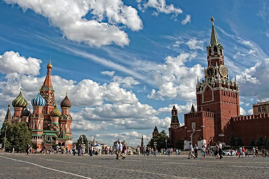 Red Square, Moscow, Russia. -- PHOTO:TAN CHUAN-JIN