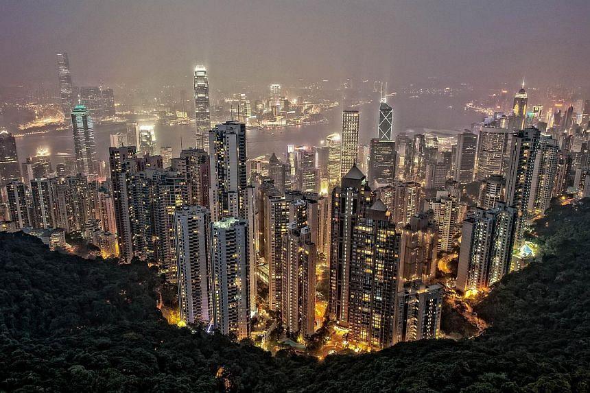 Victoria Peak, Hong Kong. -- PHOTO:TAN CHUAN-JIN