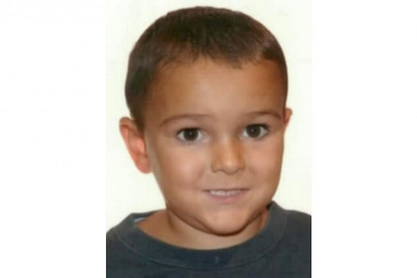 An undated handout picture released by Britain's Hampshire Police on Aug 29, 2014, shows a portrait of five-year-boy Ashya King.The British and French authorities were racing against the clock on Friday to find a five-year-boy with a brain tumo