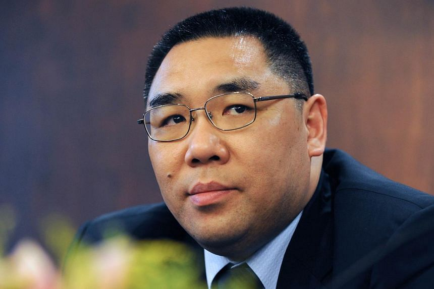 This file picture taken on June 23, 2009 shows Fernando Chui, former minister of culture, waiting before a meeting with the Macau Law Association in Macau. Macau re-elected its incumbent leader Fernando Chui in an unchallenged contest on August 31, 2