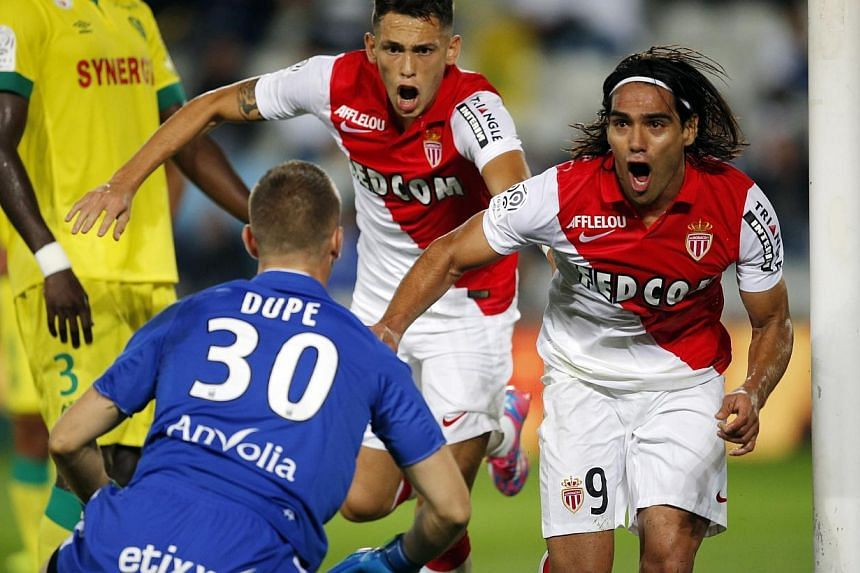 Manchester United have agreed a sensational deal to sign Colombia striker Radamel Falcao on a season-long loan from Monaco, according to widespread British media reports on Monday. -- PHOTO: REUTERS