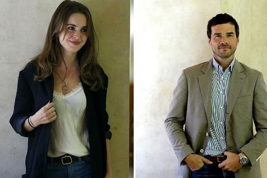 American actors Elizabeth Rice and Matthew Settle have been confirmed as the leads in a horror movie to be set and filmed in Singapore. -- ST PHOTO:CHEW SENG KIM