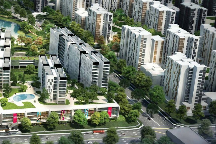 An integrated transport, commercial and residential project will form the town centre of Bidadari estate.