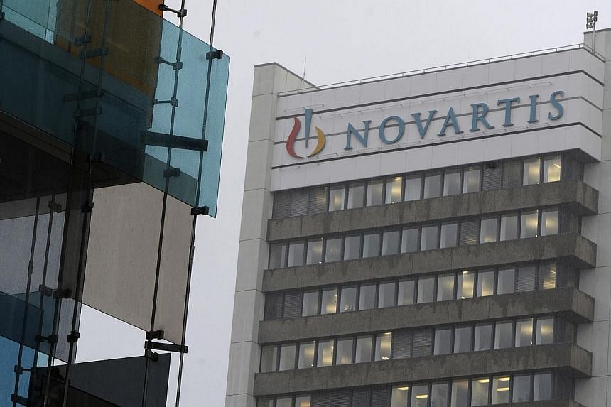 The Novartis AG headquarters stand in Basel, Switzerland, on Aug 12, 2010. -- PHOTO: BLOOMBERG