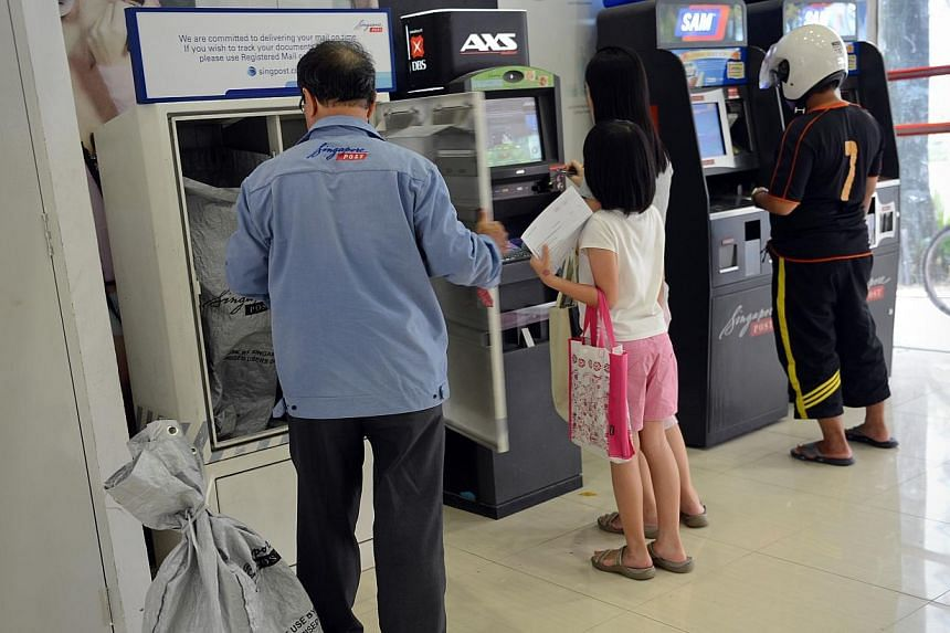 Both local and international postage rates are set to rise from October, SingPost said on Tuesday. -- PHOTO: ST FILE