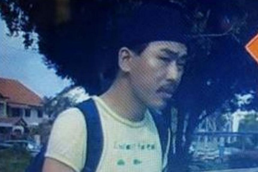 The police are appealing for information on the man in the image to help them with investigations into a case of voluntarily causing grievous hurt, reported on Joo Seng Road. -- PHOTO: SINGAPORE POLICE FORCE