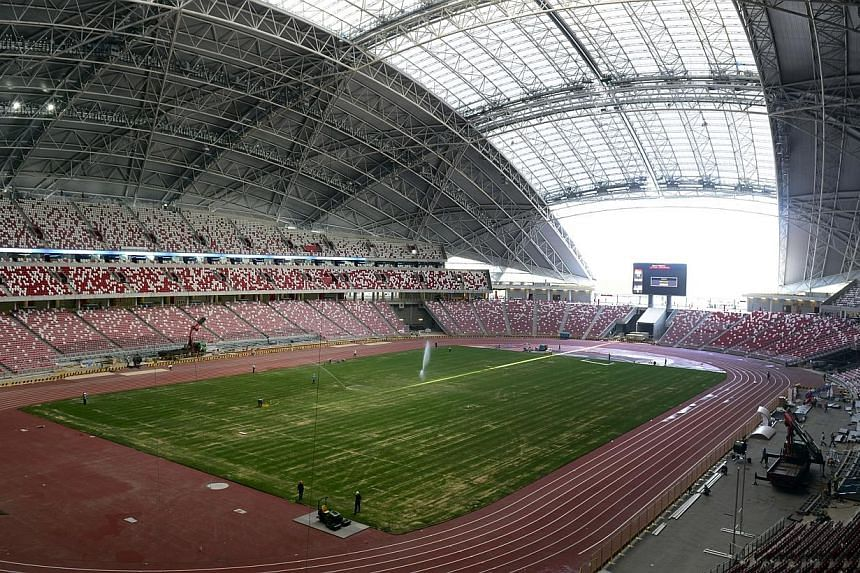 Tickets to Oct 14's football friendly between Japan and Brazil at the National Stadium will cost between $25 and $180, and will go on sale on Thursday. -- ST PHOTO: DESMOND LIM