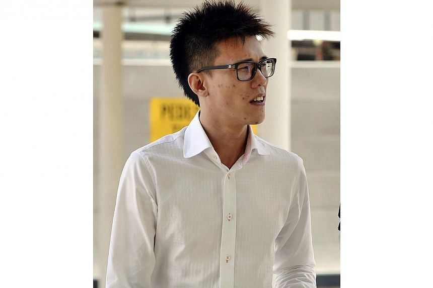 Loh Ben-Ni,34, was on Tuesday jailed for 10 weeks for having paid sex with an underage prostitute.-- ST PHOTO: MARK CHEONG