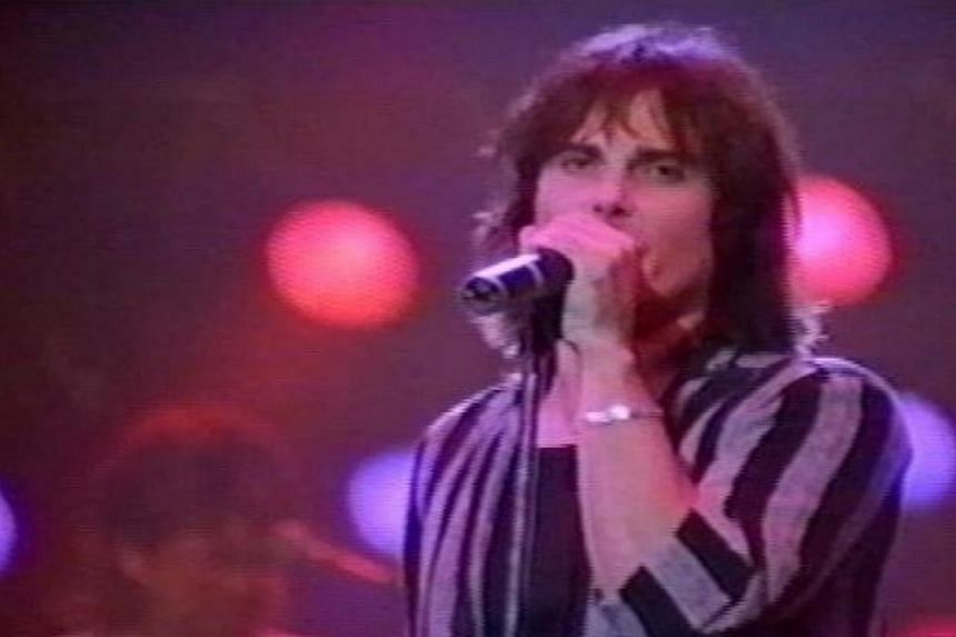 Jimi Jamison, the lead singer of the rock band Survivor, died of a heart attack on Aug 31, 2014. He was 63. -- PHOTO: JIMI JAMISON/ FACEBOOK