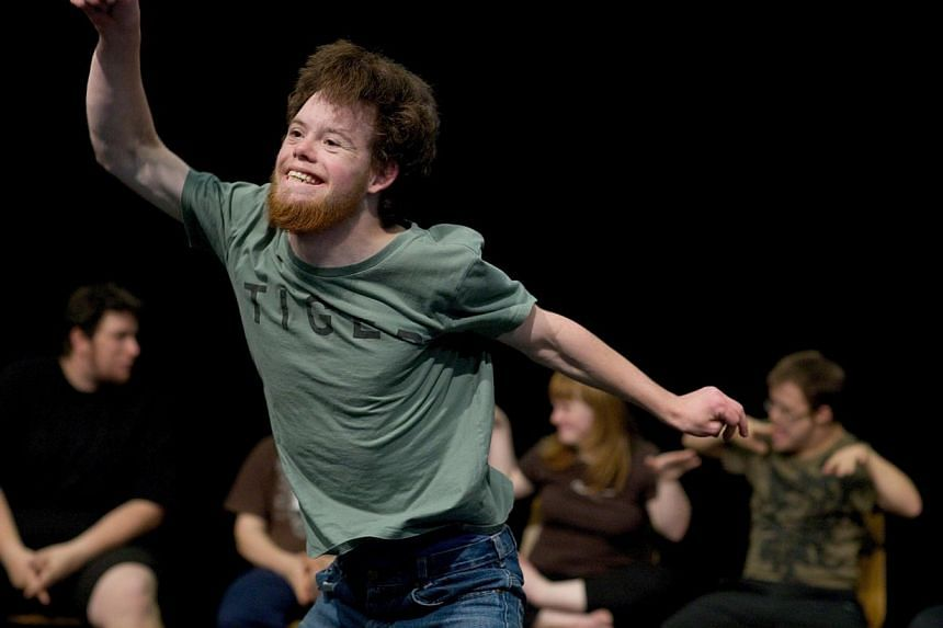 Disabled Theatre by French choreographer Jerome Bel will be featured in the revamped Singapore International Festival Of Arts which will run from Aug 12 to Sept 21, 2014. -- PHOTO:MICHAEL BAUSE