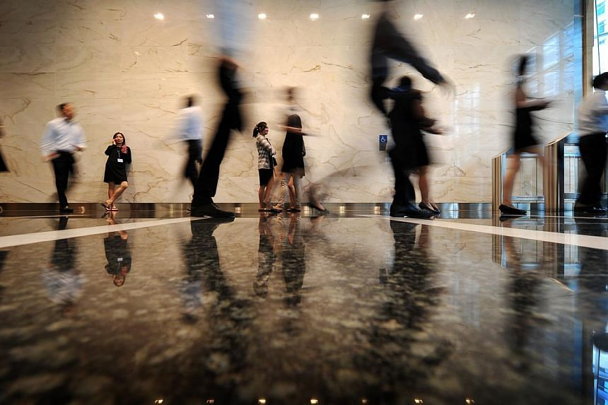 One exception to the rule would be new local hires, where staff tend to get substantial increases after three to six months of employment. -- ST FILE PHOTO