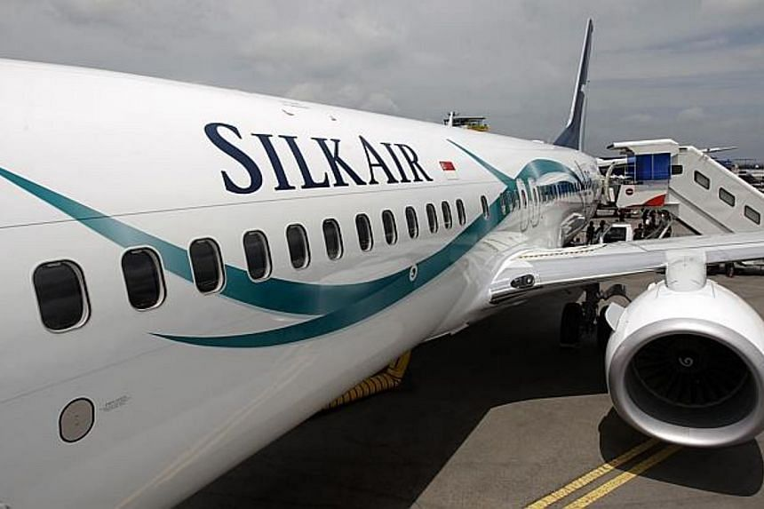 SilkAir, the regional wing of Singapore Airlines, welcomed its first Boeing 737-800 at the Singapore Airshow 2014. -- PHOTO: ST FILE