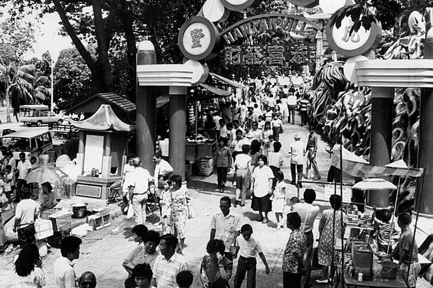 Haw Par Villa built by Aw Boon Haw in 1937 at the cost of $1 million. -- PHOTO: ST FILE