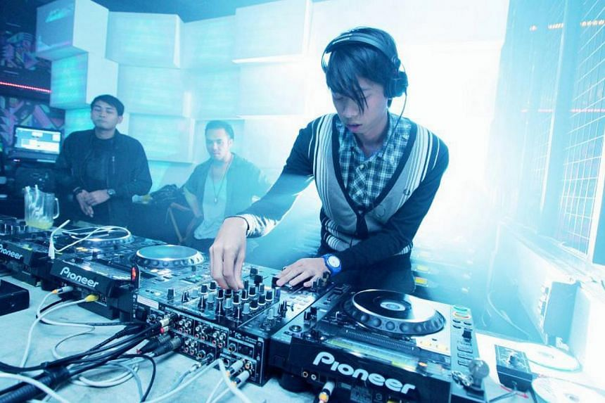 DJ Zushan, whose real name is Benedict Teo, is known for his electro and bass music sets. -- PHOTO: THE BUTTER FACTORY