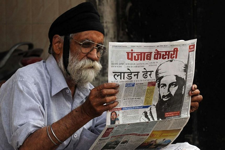 """India placed several states on high alert on Thursday after Al-Qaeda launched a new branch to """"wage jihad"""" in South Asia, seeking to invigorate its waning Islamist extremist movement. -- PHOTO: AFP"""