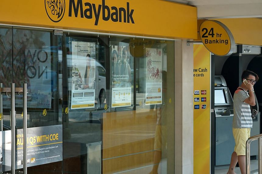 The battle for deposits continue to heat up for banks here, with Malaysian lender Maybank firing the latest salvo. -- ST PHOTO:KUA CHEE SIONG