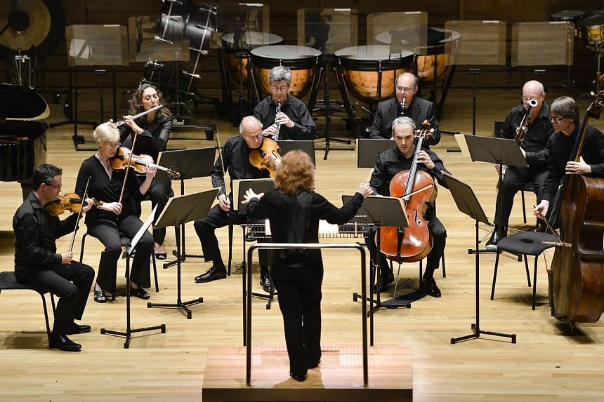 The London Sinfonietta is playing at the Singapore International Festival of Arts. -- PHOTO: KONG CHONG YEW