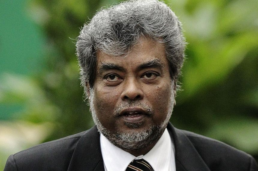 Mr Subhas Anandan, president of the Association of Criminal Lawyers of Singapore.