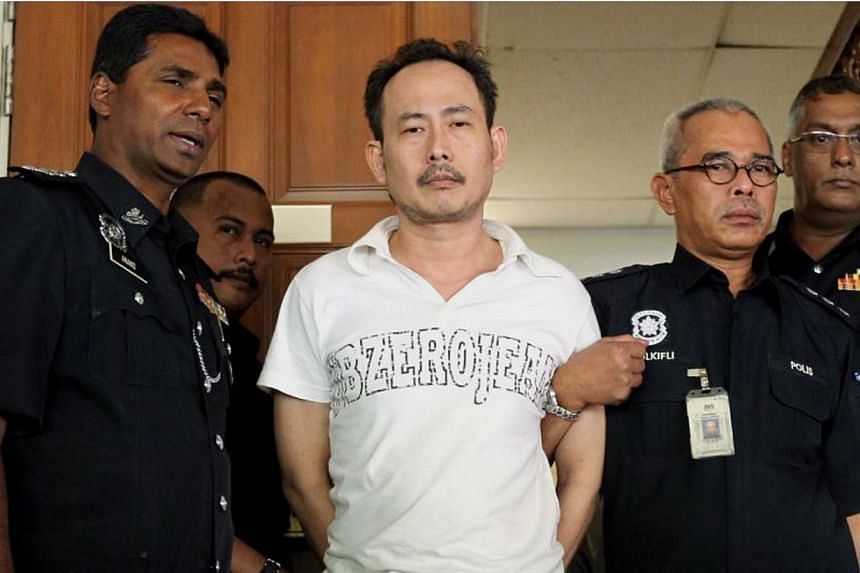 Tow truck driver Koong Swee Kwanwas sentenced to death by a High Court on Friday for murdering Arab-Malaysian Development Bank founder Hussain Ahmad Najadi last year. -- PHOTO: THE STAR/ASIA NEWS NETWORK