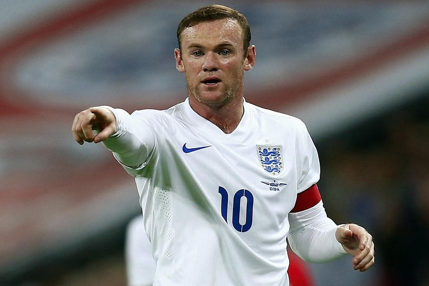 Wayne Rooney has made a great start as England captain and will be an inspirational leader in the future, former skipper David Beckham believes. -- PHOTO: REUTERS