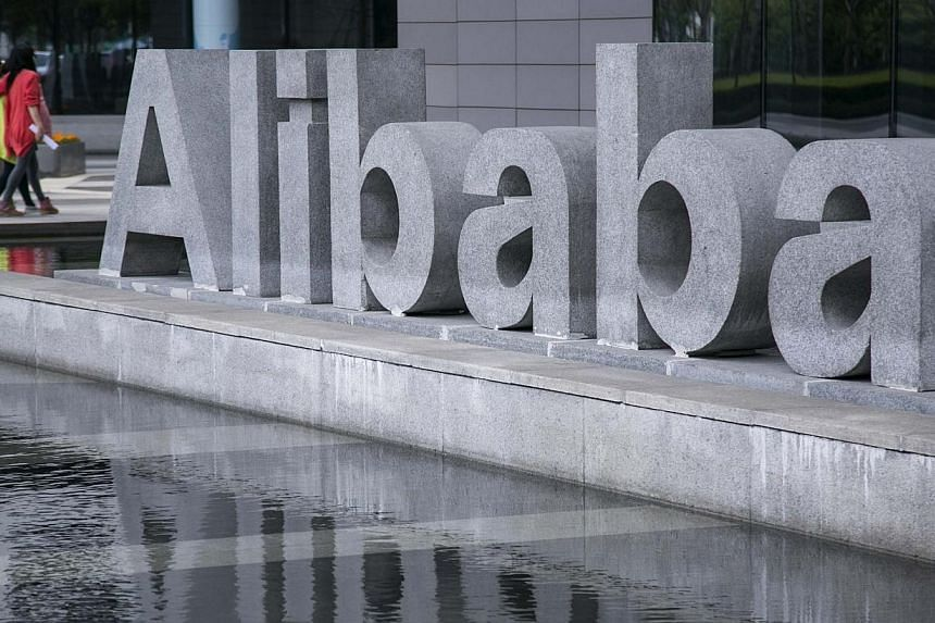 Alibaba Group seeks to raise more than US$21 billion (S$26.3 billion) in an initial public offering that will be the largest-ever technology debut in the United States and will value the Chinese e-commerce giant at up to US$163 billion. -- PHOTO: REU