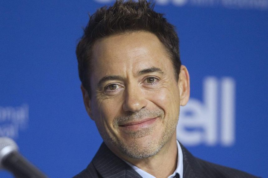 Cast member Robert Downey Jr. attends a news conference promoting the film The Judge at the Toronto International Film Festival (TIFF) on Sept 5, 2014. -- PHOTO: REUTERS