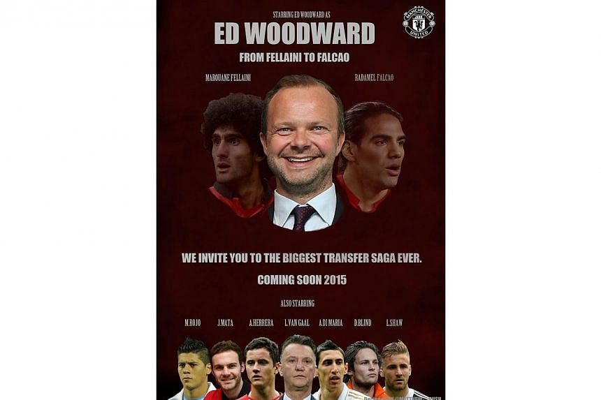 -- PHOTO: MANCHESTER UNITED REDDIT PAGE