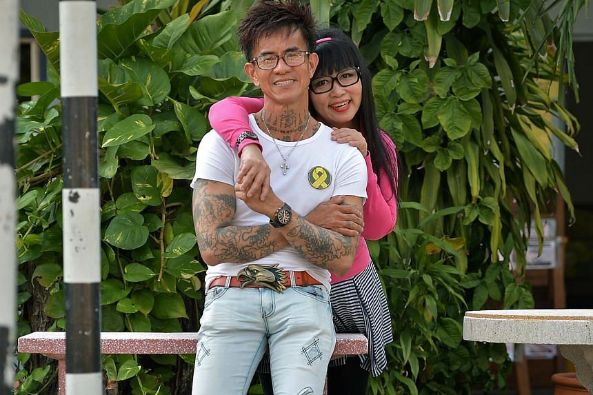 Ms Lilian Loo encouraged Mr Jonathan Tan, who spent 11 years in jail for robbery and drug offences, to turn over a new leaf. They will tie the knot in November.