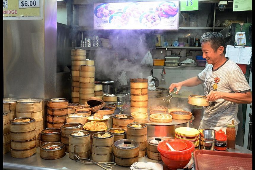 Mr Koh Hui Boon of Kin Turtle Soup says he will move resources back to the flagshipoutlet in Geylang Lorong 35, while Mr Jim Tan (above) of Pei Yun Hong Kong Tim Sum (above) islikely to close for good if he cannot find a suitable new loca