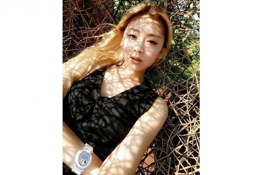 RiSe of the Ladies' Code died on Sunday, failing to recover from a car accident last week that claimed the life of another member of the K-pop group.-- PHOTO: LADIES' CODE/FACEBOOK