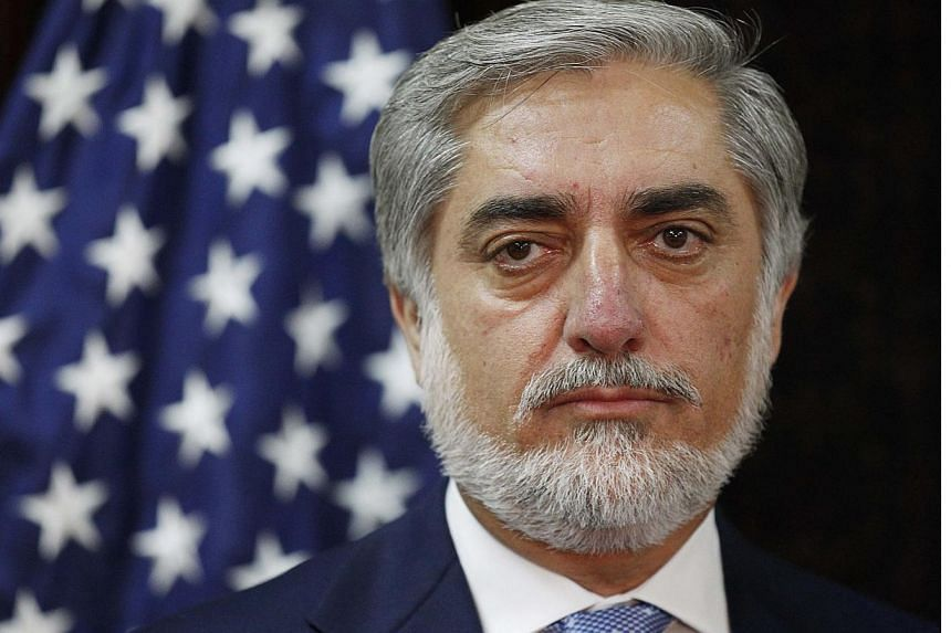 Afghan presidential candidate Abdullah Abdullahinsisted on Monday, Sept 8, 2014, that he won the country's disputed election, dimming hopes that a United Nations-supervised audit of votes could soon end the prolonged political crisis. -- PHOTO:
