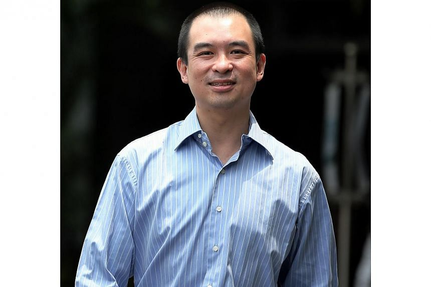 Timothy Gan Wee Jin, 40, was acquitted for sexual service with a female who was under 18.-- ST PHOTO:WONG KWAI CHOW