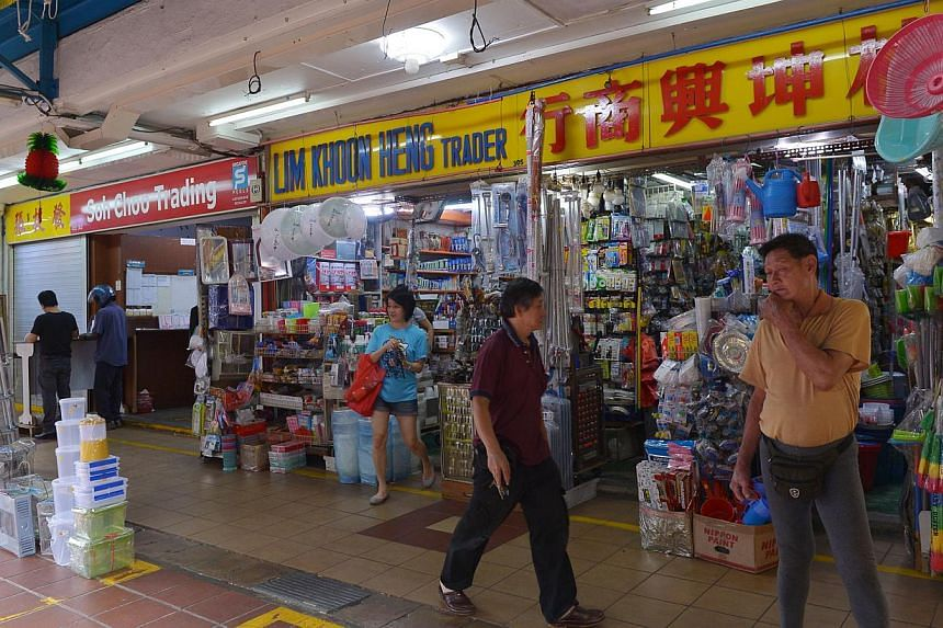Business costs are on the rise for more small and medium-sized enterprises (SMEs) here, who are also seeing a drop in their profit margins. -- PHOTO: ST FILE