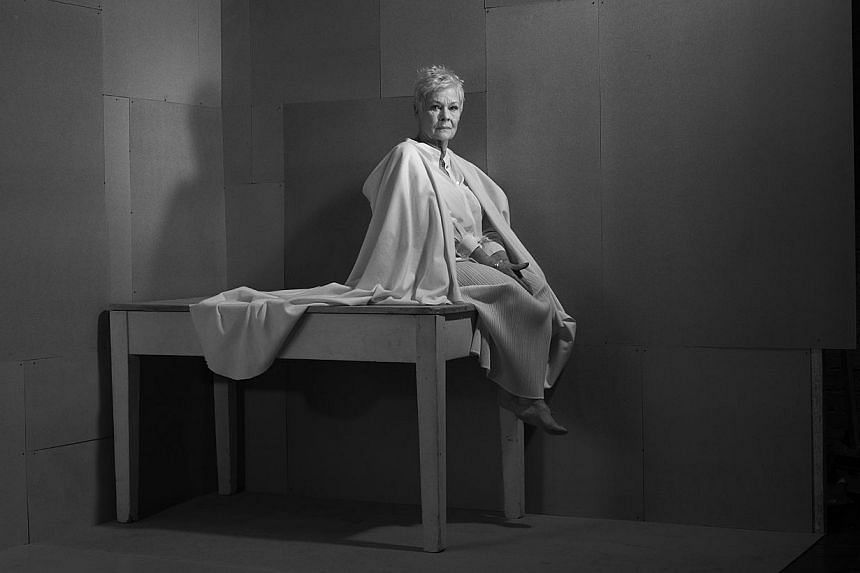 Nadav Kander's works include a portrait of actress Judi Dench (above) and Shoes In Dust, Pripyat from the Chernobyl series. -- PHOTO: NADAV KANDER