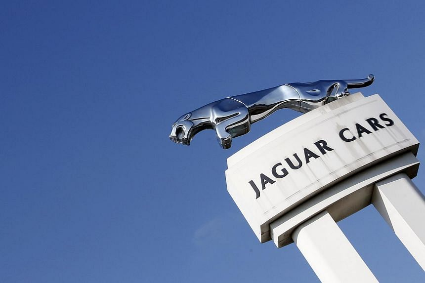 British luxury carmaker Jaguar launched its cheapest ever car on Monday, the first new model in a range designed to widen its appeal to women and younger drivers and take on bigger rivals such as BMW, Audi and Mercedes-Benz. -- PHOTO: REUTERS