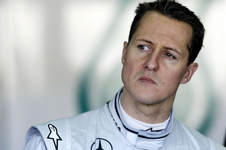 Former Formula One champion Michael Schumacher has left a Swiss hospital and will continue his treatment at home after a devastating ski accident in December, his family said in a statement on Tuesday. -- PHOTO: AFP