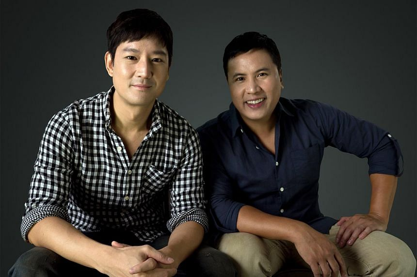 Actors Jason Chan (right) and Christian Lee (far right) moved to Singapore to break out of supporting roles or stereotypical Asian roles. Lee played a supporting role in Marco Polo (above), but Brian Dennehy was given the role of Kublai Khan. The rec