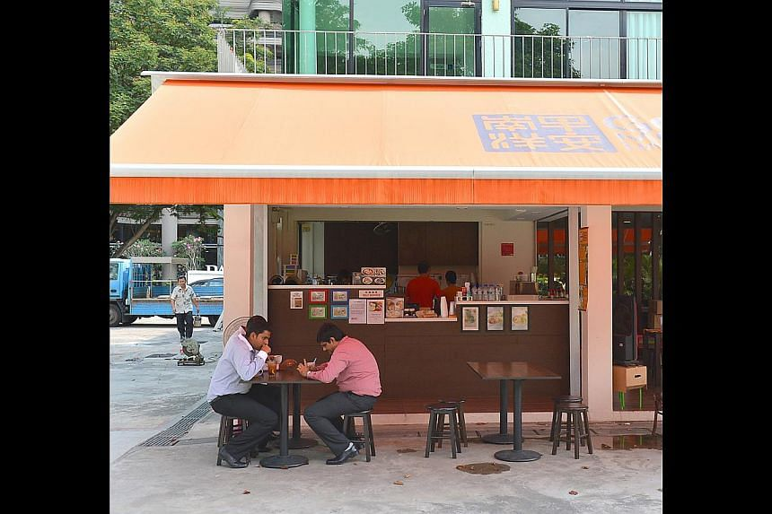 Good Morning Nanyang Cafe's flagship outlet at Telok Ayer Hong Lim Green Community Centre. Owner Byron Shoh will continue to offer his signature kaya at Food Glossary, which is expected to open in November. -- PHOTO: ST FILE