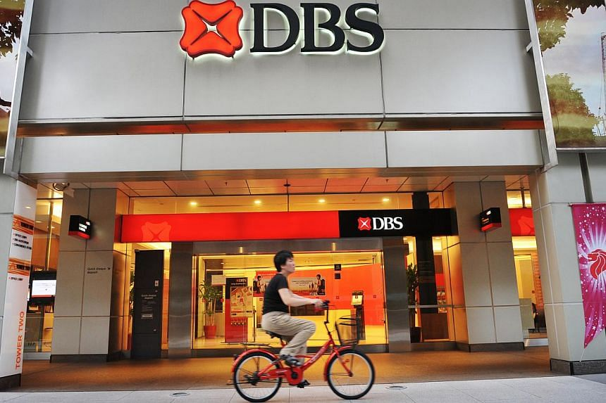 """The country's largest bank DBS has won top honours, winning the title of """"Safest Bank in Asia"""", its sixth consecutive win. -- PHOTO: ST FILE"""