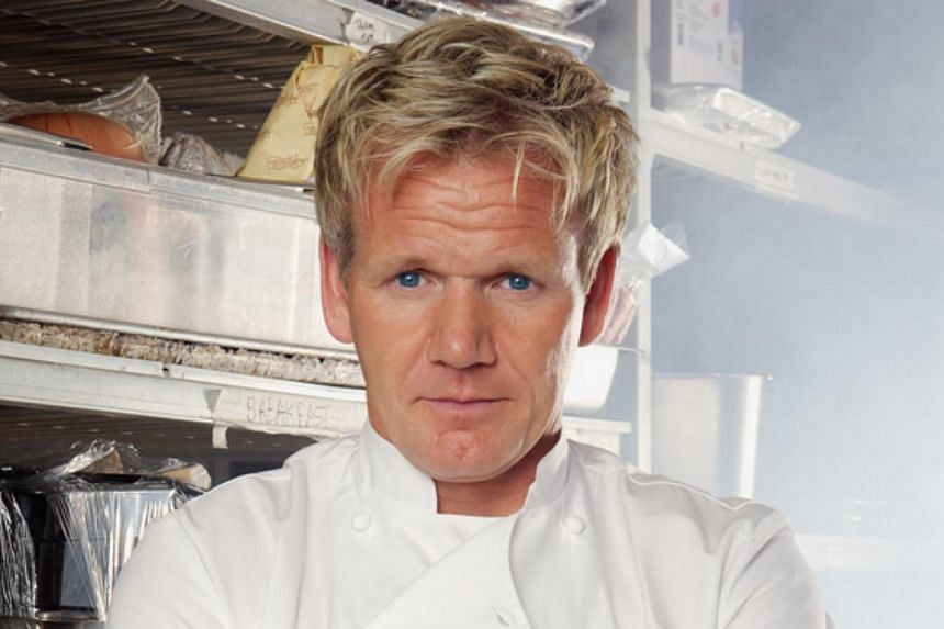 British celebrity chef Gordon Ramsay has gone into partnership with Marina Bay Sands and will be opening a restaurant at the integrated resort next year. -- PHOTO: GORDON RAMSAY HOLDINGS LTD