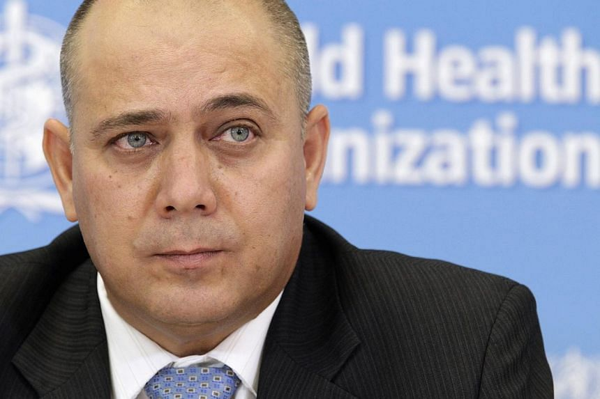 Cuba's Minister of Public Health Roberto Morales Ojeda looks on during a news conference on support to Ebola affected countries, at the World Health Organization (WHO) headquarters in Geneva on Sept 12, 2014. Cuba is to send 165 health-care work