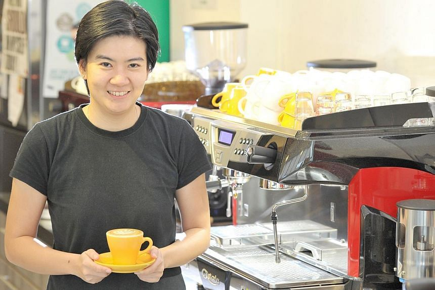 BETTR BARISTA: Set up by Ms Pamela Chng in 2011, it helps at-risk youth and disadvantaged women hone their coffee-making skills. Participants also get training in areas such as emotional management.