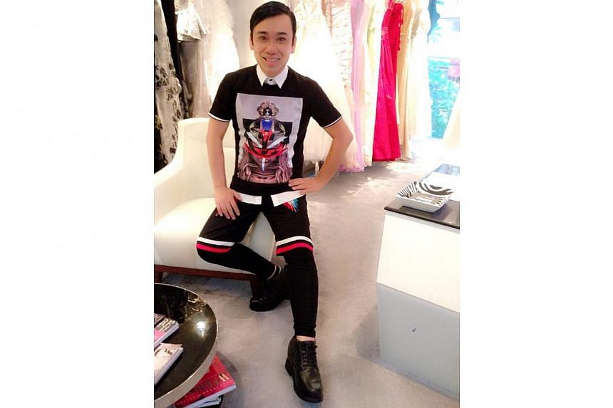 Singapore couture designer, Francis Cheong. -- PHOTO: COURTESY OF FRANCIS CHEONG