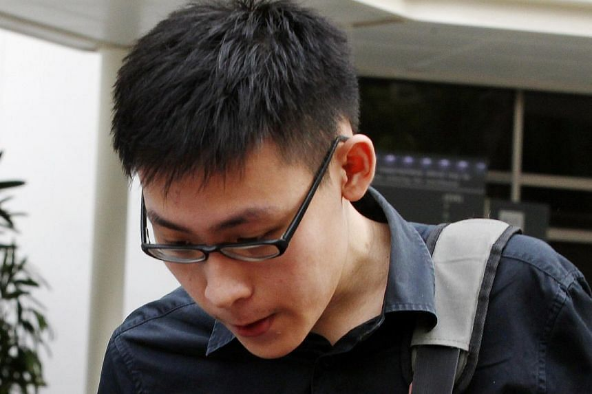 "Jacob Lau Jian Rong was fined $1,000 on Tuesday for organising a public procession from City Hall MRT station to demonstrate support for the ""Million Mask March Singapore''. -- PHOTO: ST FILE"