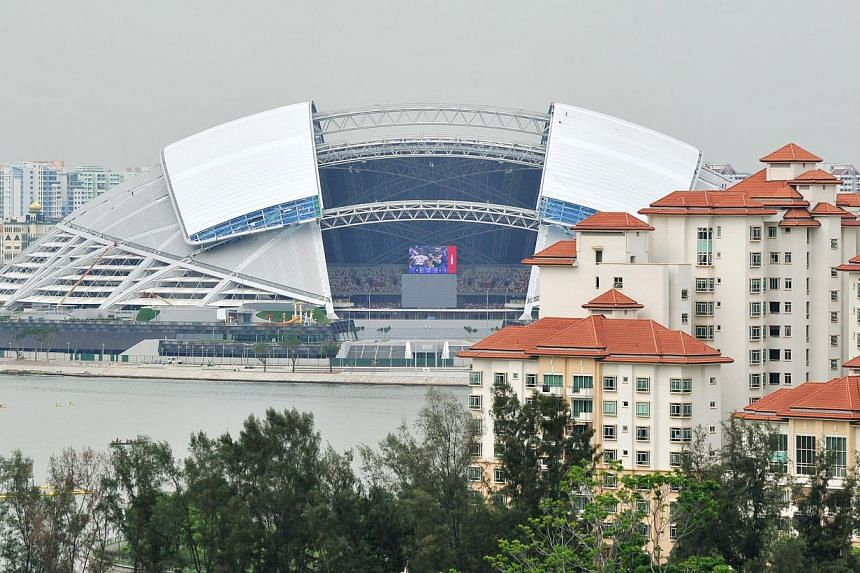 More than 30,000 tickets for the Oct 14 football friendly between Japan and Brazil at the National Stadium have been snapped up. -- PHOTO: ST FILE