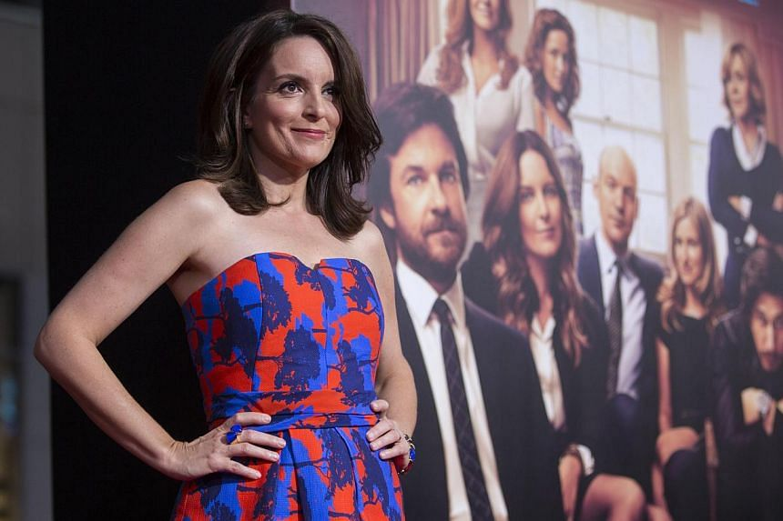 Comedienne Tina Fey is a pretty well-known name in Hollywood after the success of 30 Rock and her stint as Golden Globes host last year. -- PHOTO: REUTERS
