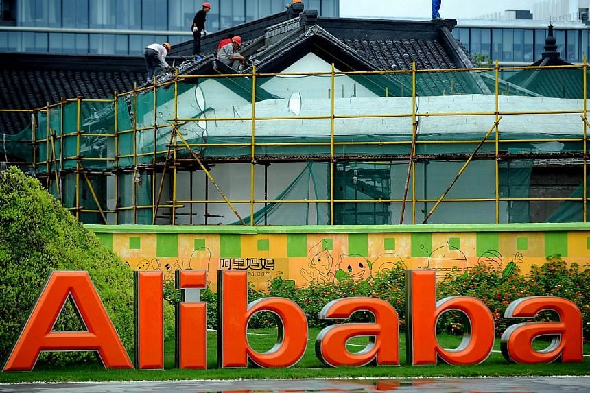 Seven Chinese firms that are partly owned by Alibaba or have partnerships with the world's largest e-commerce company have seen their stocks soar by up to 24 per cent in the past month.