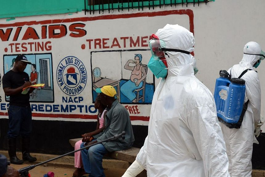 The World Bank warned Wednesday that the deadly Ebola epidemic could be an unmitigated disaster for West African economies, and called for quick action to halt its spread. -- PHOTO: AFP